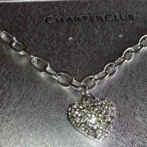 Silver Heart Neclace